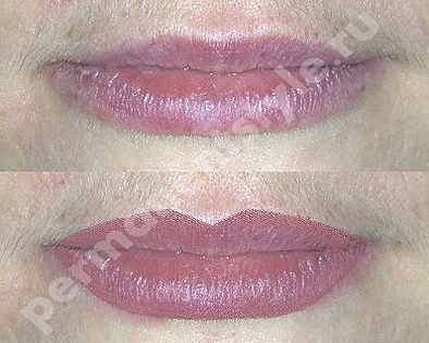 Computer selection of lips